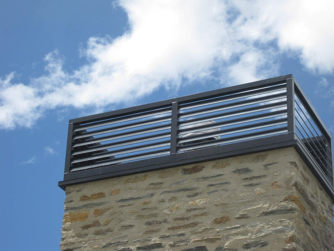 Chimney cowls - Queenstown Residence