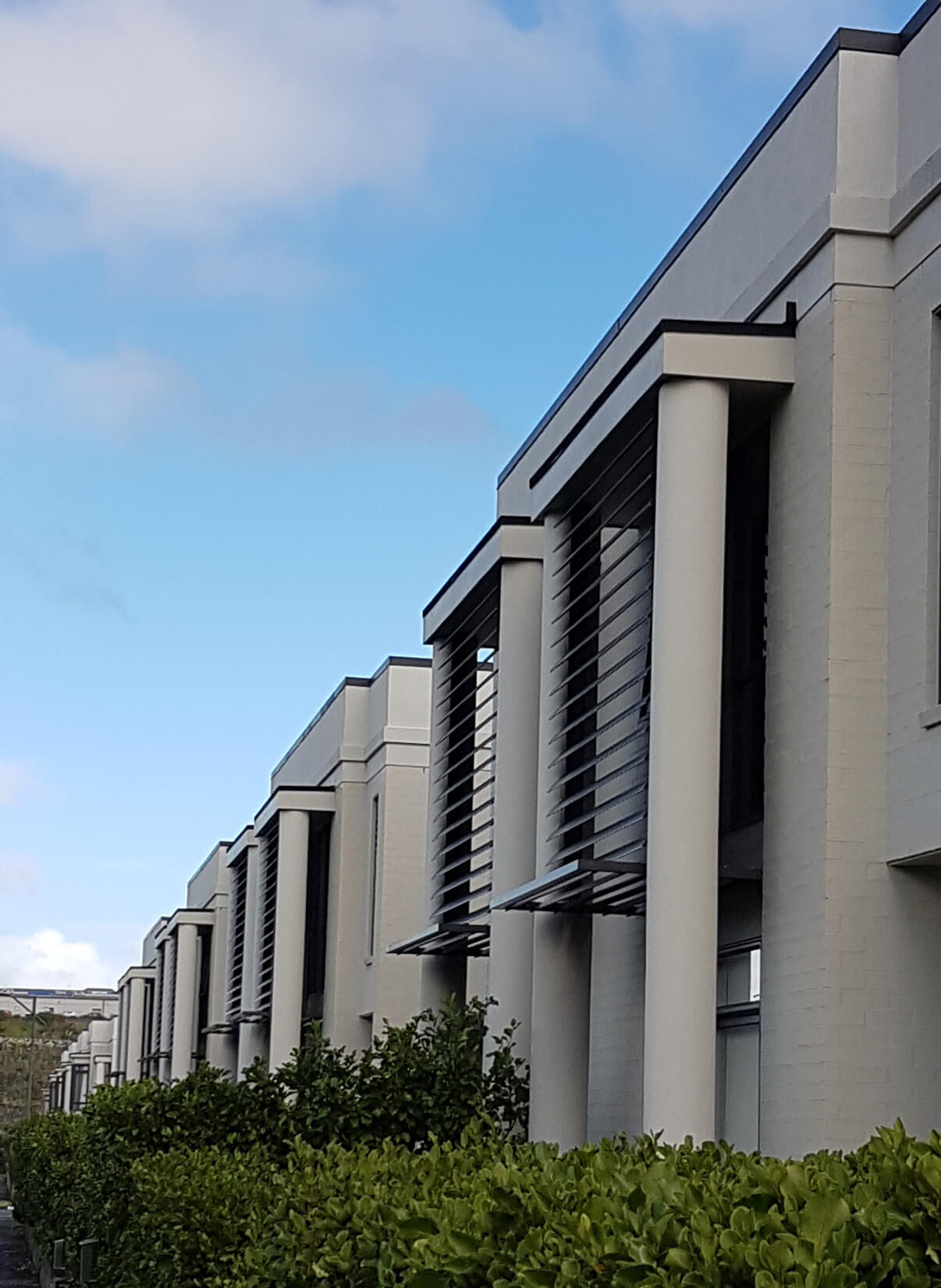 Fixed louvre blades - Stonefields Special Housing Development