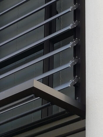 Sunshade canopies - Stonefields Special Housing Development