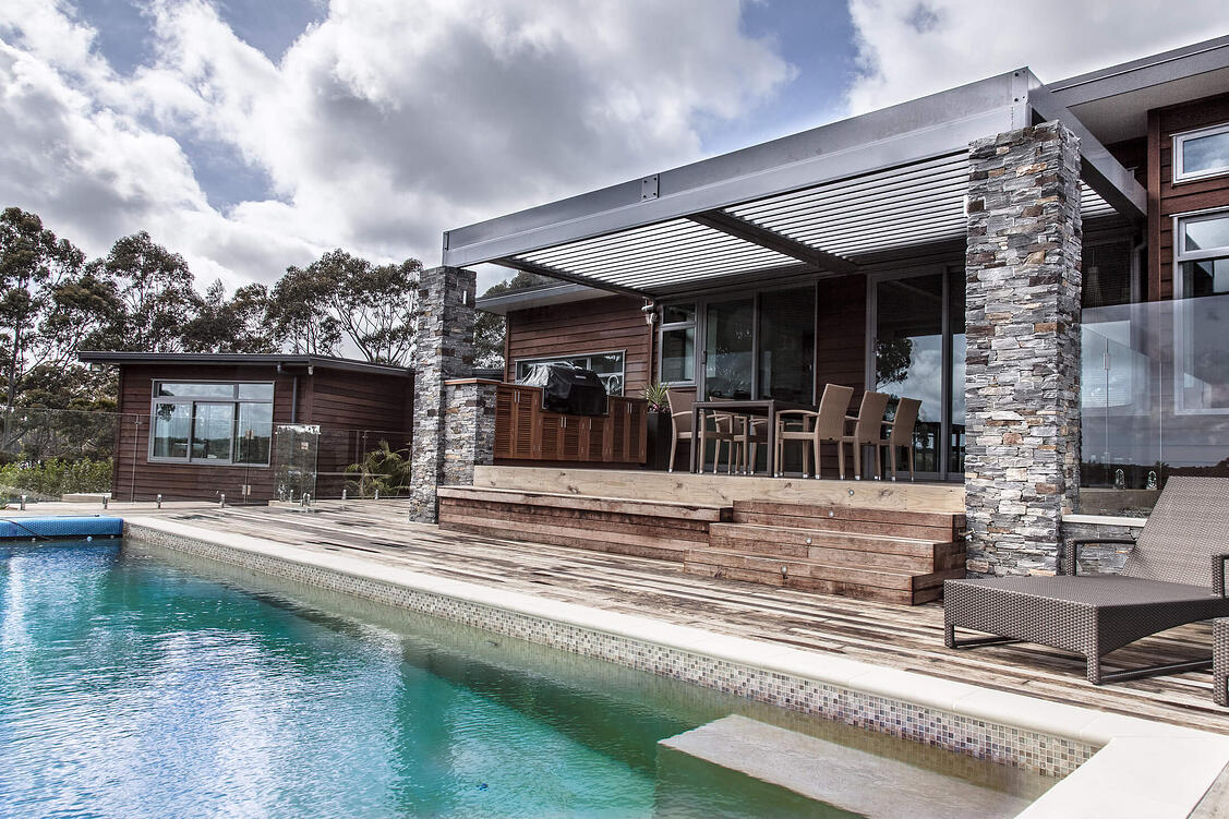 Cable Bay Residence  Front