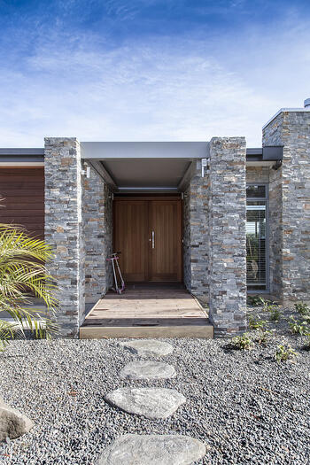 Cable Bay Residence Door