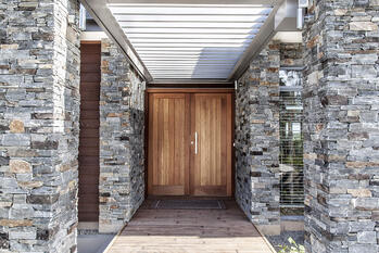 Cable Bay Residence - Main Door