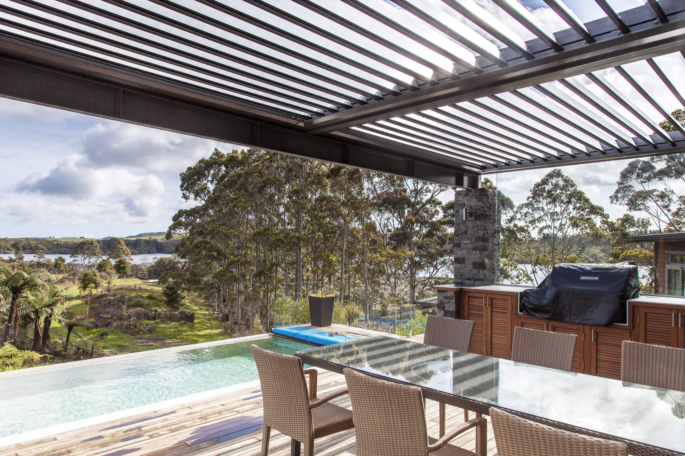 Cable Bay Residence Deck