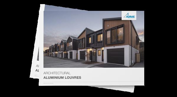 Aurae aluminium louvre brochure