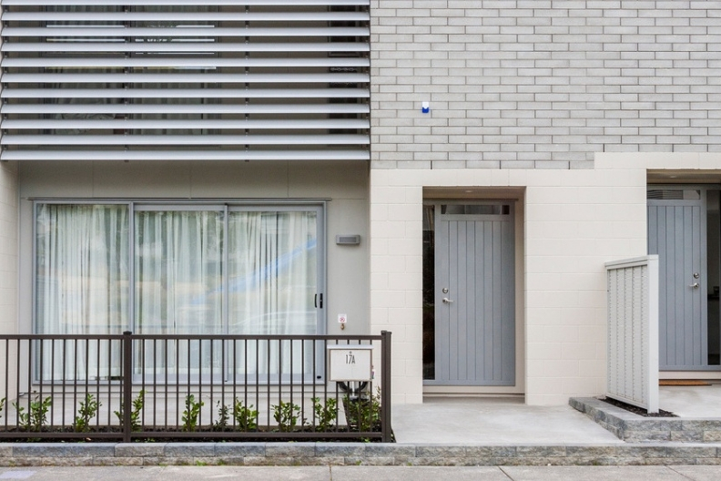 Louvres on a home for aesthetics and street appeal