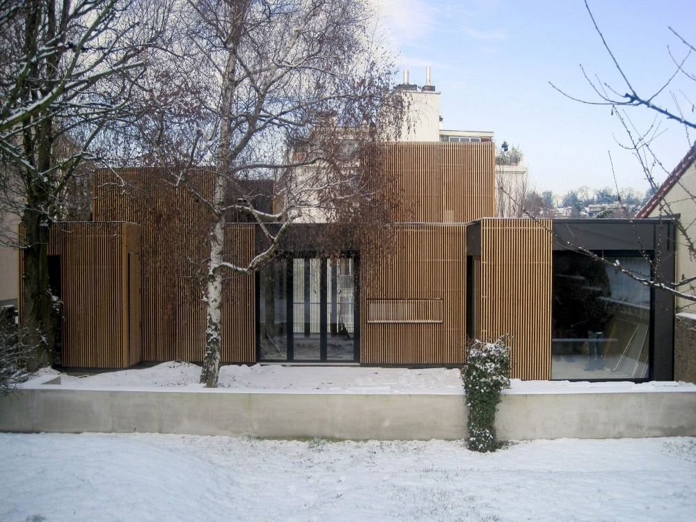 Combining timber with steel to serve various purposes