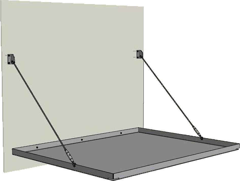 Horizon straight entrance canopy