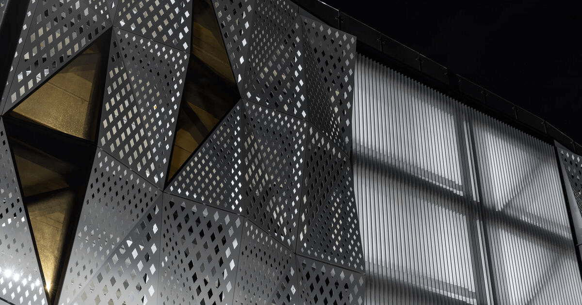 The new dapple range of perforated screens