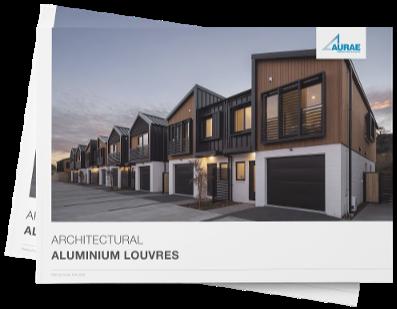 Architectural aluminium louvre brochure