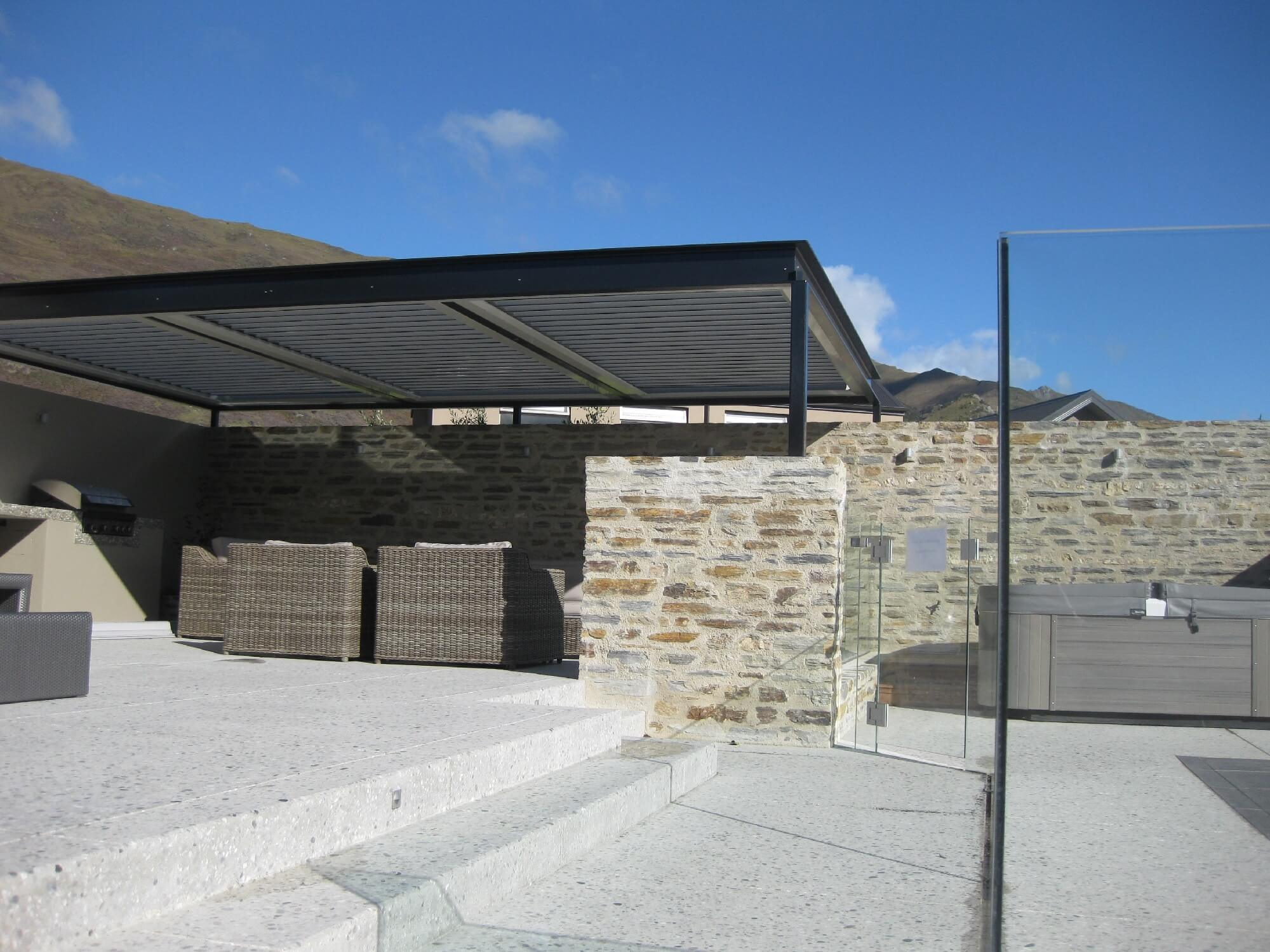 aluminium pergolas new zealand