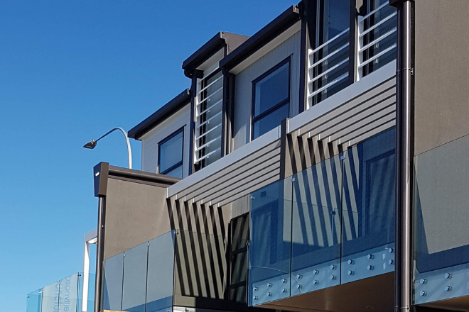 Fixed louvres Hobsonville Road
