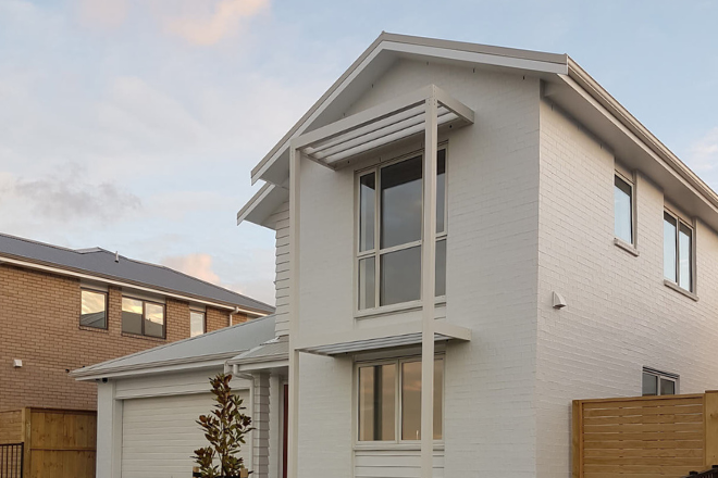 Aurae louvres used in residential development
