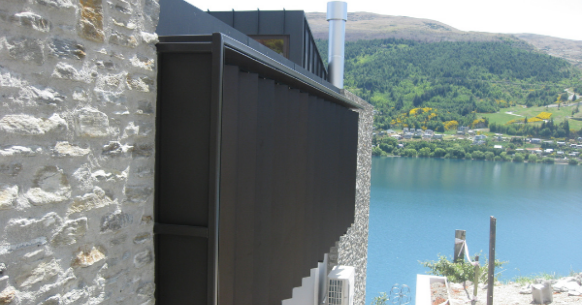 See the different ways that motorised louvres can be used on a home