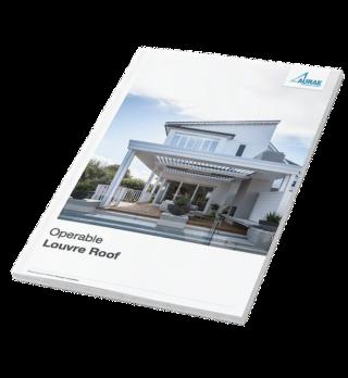 Aurae operable louvre roof brochure